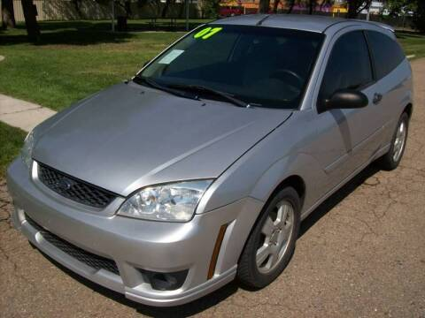 2007 Ford Focus for sale at EVANS AUTO SERVICE & SALES in Fort Lupton CO