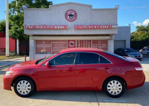 2011 Toyota Camry for sale at Eazy Auto Finance in Dallas TX