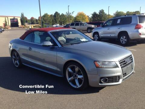 2011 Audi A5 for sale at Red's Auto and Truck in Longmont CO
