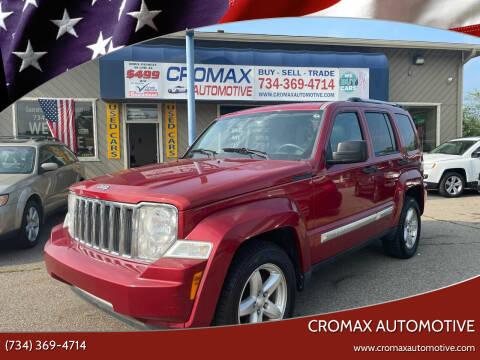 2010 Jeep Liberty for sale at Cromax Automotive in Ann Arbor MI