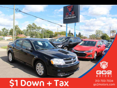2012 Dodge Avenger for sale at Go2Motors in Redford MI