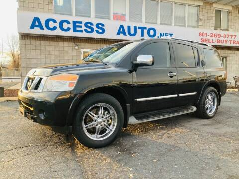 2011 Nissan Armada for sale at Access Auto in Salt Lake City UT