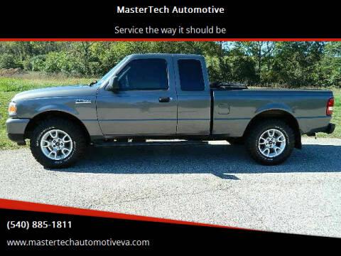 2011 Ford Ranger for sale at MasterTech Automotive in Staunton VA