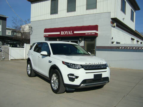 2016 Land Rover Discovery Sport for sale at Royal Auto Inc in Murray UT