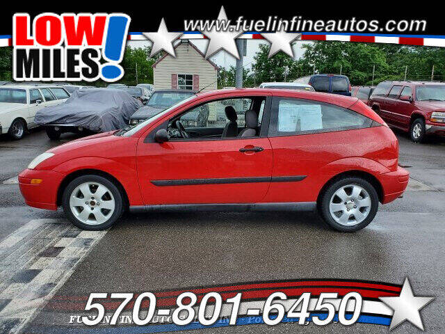 2001 Ford Focus for sale at FUELIN FINE AUTO SALES INC in Saylorsburg PA