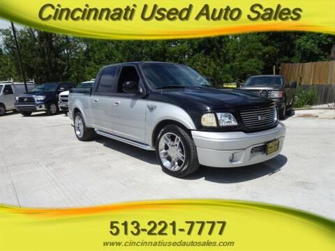 2003 Ford F-150 for sale at Cincinnati Used Auto Sales in Cincinnati OH