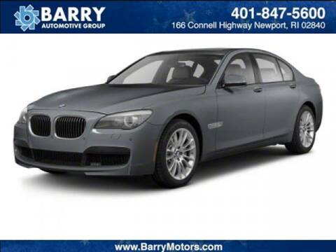 2010 BMW 7 Series for sale at BARRYS Auto Group Inc in Newport RI