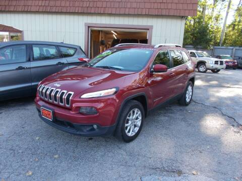 2016 Jeep Cherokee for sale at Careys Auto Sales in Rutland VT