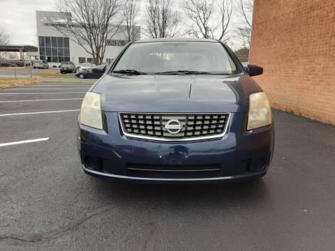 2007 Nissan Sentra for sale at Fredericksburg Auto Finance Inc. in Fredericksburg VA