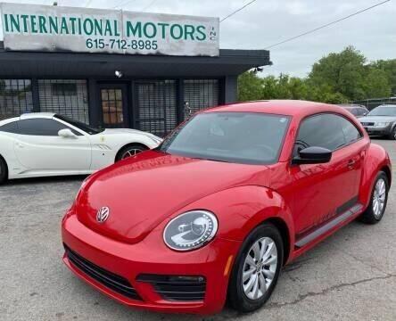 2018 Volkswagen Beetle for sale at International Motors & Service INC in Nashville TN