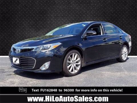 2015 Toyota Avalon for sale at Hi-Lo Auto Sales in Frederick MD