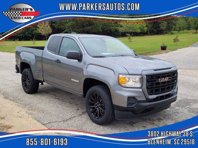 2021 GMC Canyon for sale at Parker's Used Cars in Blenheim SC