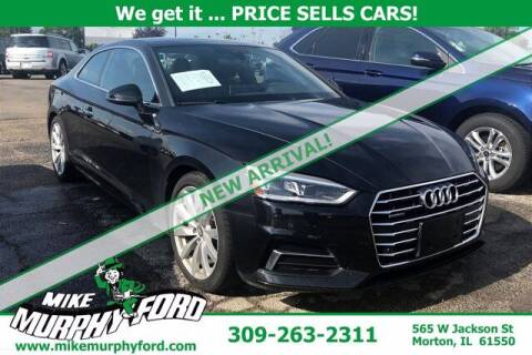 2018 Audi A5 for sale at Mike Murphy Ford in Morton IL