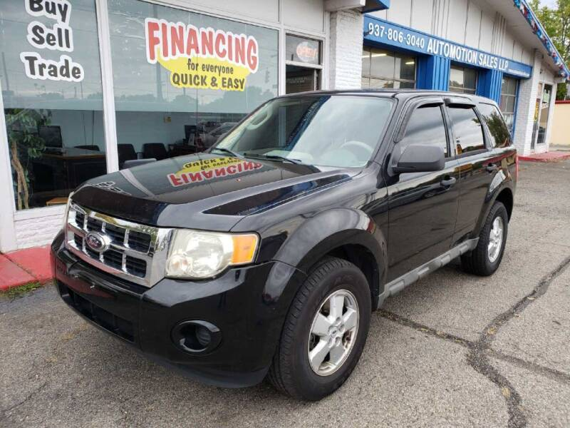 2009 Ford Escape for sale at AutoMotion Sales in Franklin OH