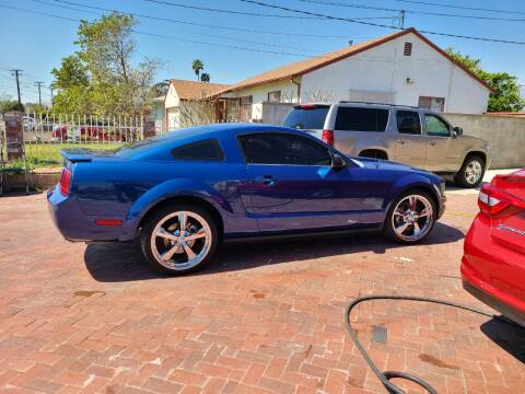2007 Ford Mustang for sale at E and M Auto Sales in Bloomington CA