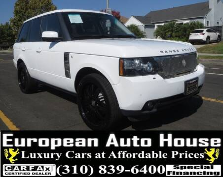 2012 Land Rover Range Rover for sale at European Auto House in Los Angeles CA