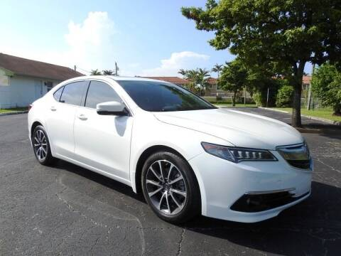 2016 Acura TLX for sale at SUPER DEAL MOTORS 441 in Hollywood FL