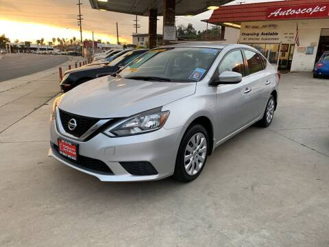 2016 Nissan Sentra for sale at Top Quality Auto Sales in Redlands CA