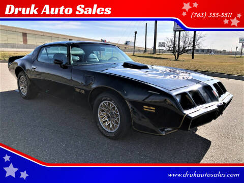1979 Pontiac Firebird Trans Am for sale at Druk Auto Sales in Ramsey MN