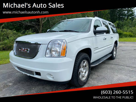 2007 GMC Yukon XL for sale at Michael's Auto Sales in Derry NH