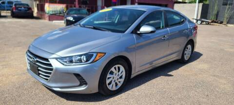 2017 Hyundai Elantra for sale at Fast Trac Auto Sales in Phoenix AZ
