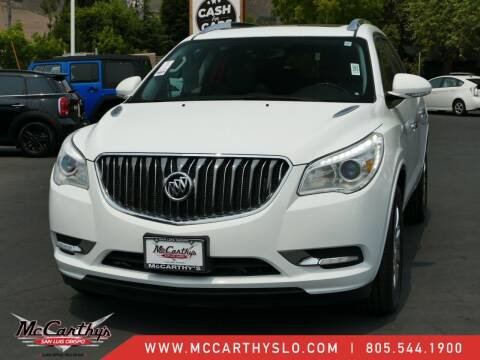 2017 Buick Enclave for sale at McCarthy Wholesale in San Luis Obispo CA