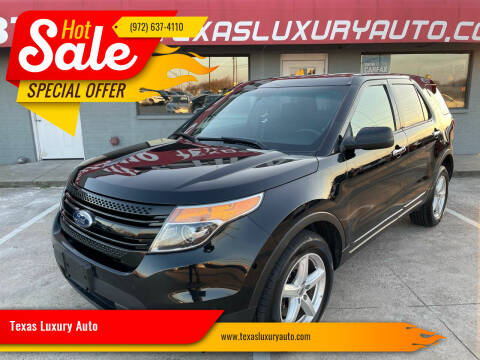 2015 Ford Explorer for sale at Texas Luxury Auto in Cedar Hill TX