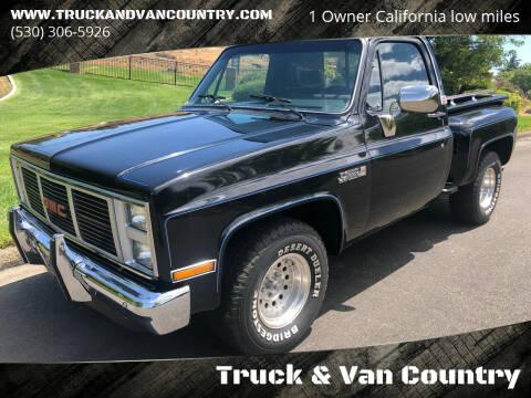 1986 GMC C/K 1500 Series for sale at Truck & Van Country in Shingle Springs CA