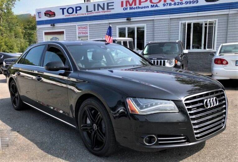 2013 Audi A8 L for sale at Top Line Import of Methuen in Methuen MA