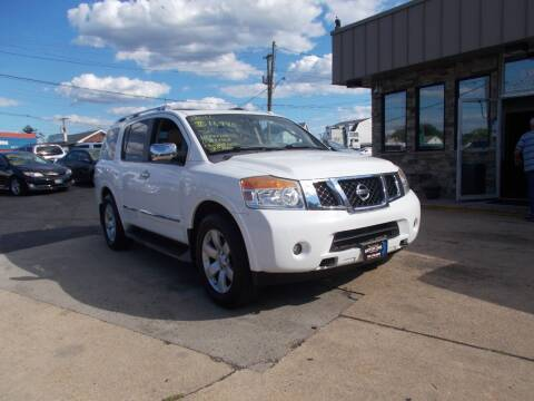 2011 Nissan Armada for sale at Preferred Motor Cars of New Jersey in Keyport NJ