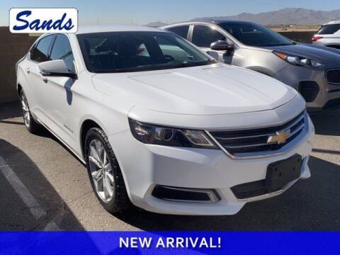 2017 Chevrolet Impala for sale at Sands Chevrolet in Surprise AZ