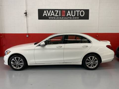 2016 Mercedes-Benz C-Class for sale at AVAZI AUTO GROUP LLC in Gaithersburg MD