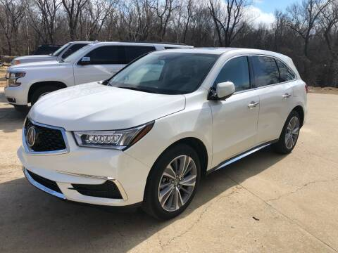 2018 Acura MDX for sale at Sartins Auto Sales in Dyersburg TN