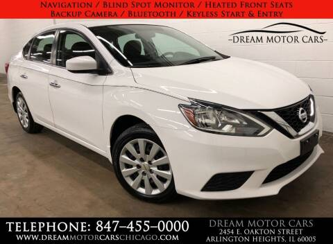2016 Nissan Sentra for sale at Dream Motor Cars in Arlington Heights IL