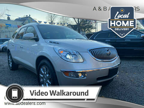 2012 Buick Enclave for sale at A & B Auto Cars in Newark NJ