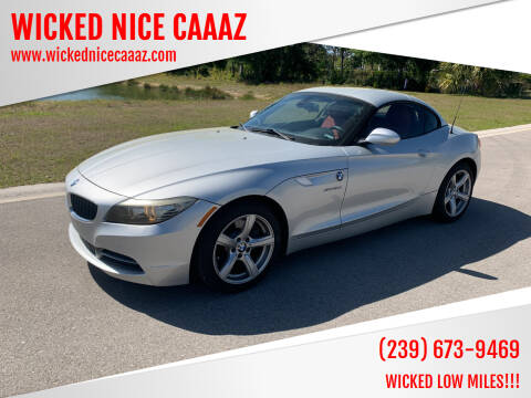 2009 BMW Z4 for sale at WICKED NICE CAAAZ in Cape Coral FL
