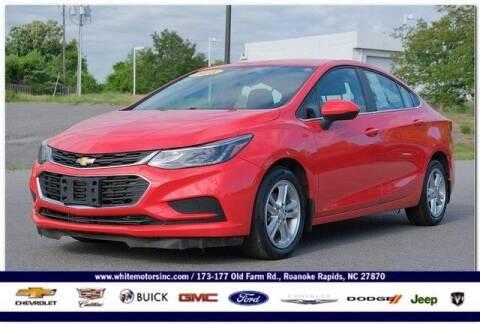 2018 Chevrolet Cruze for sale at WHITE MOTORS INC in Roanoke Rapids NC