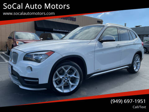 2015 BMW X1 for sale at SoCal Auto Motors in Costa Mesa CA