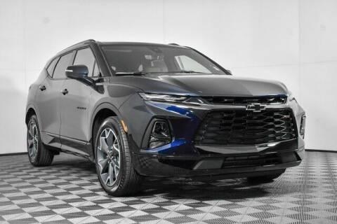 2021 Chevrolet Blazer for sale at Washington Auto Credit in Puyallup WA