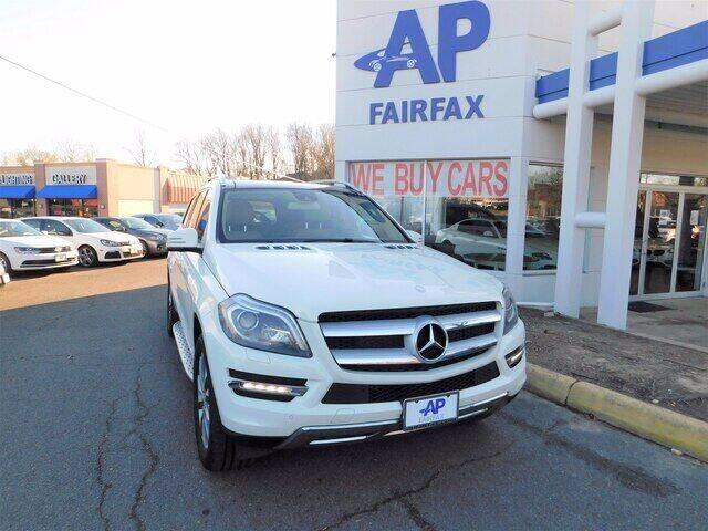 2013 Mercedes-Benz GL-Class for sale at AP Fairfax in Fairfax VA