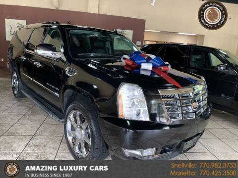 2013 Cadillac Escalade ESV for sale at Amazing Luxury Cars in Snellville GA