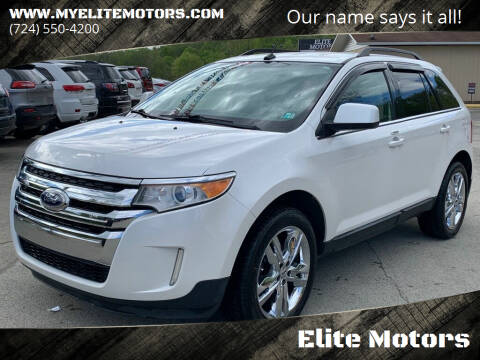 2011 Ford Edge for sale at Elite Motors in Uniontown PA