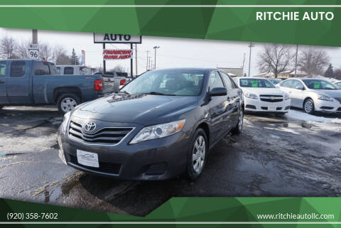 2011 Toyota Camry for sale at Ritchie Auto in Appleton WI