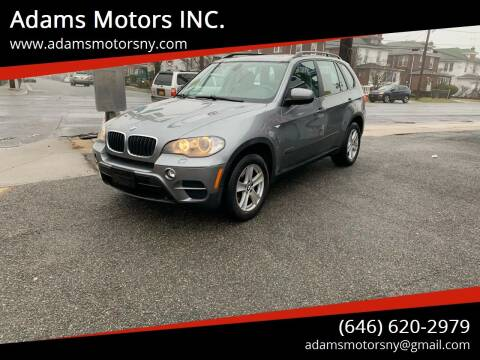 2011 BMW X5 for sale at Adams Motors INC. in Inwood NY