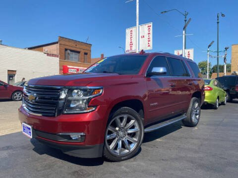2016 Chevrolet Tahoe for sale at Latino Motors in Aurora IL