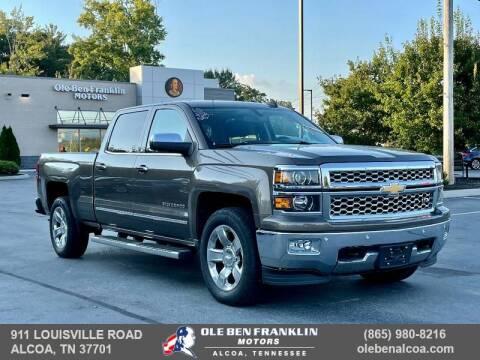 2015 Chevrolet Silverado 1500 for sale at Ole Ben Franklin Motors Clinton Highway in Knoxville TN