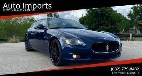 2011 Maserati Quattroporte for sale at Auto Imports in Houston TX