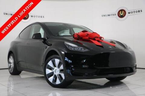 2021 Tesla Model Y for sale at INDY'S UNLIMITED MOTORS - UNLIMITED MOTORS in Westfield IN