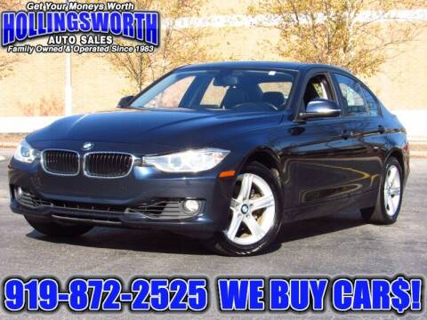 2013 BMW 3 Series for sale at Hollingsworth Auto Sales in Raleigh NC