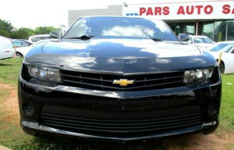 2014 Chevrolet Camaro for sale at Pars Auto Sales Inc in Stone Mountain GA